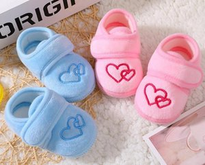 Baby Shoes Newborn Winter Girls Infant Shoes Prewalkers Crib Nonslip Baby Boys Heart By Heart SandQ Sweet