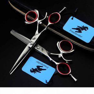 Free 5.5inch LINKSHÄNDER Professionelle 360 Grad drehen Salon Hair Shear Swivel Frisur Scissor Barber-Shop-Supplies