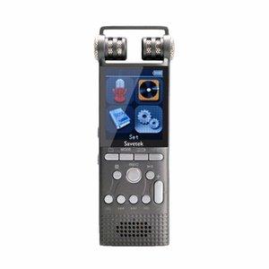 FreeShipping والمهنية صوت المنشط الصوت الرقمي مسجل صوت 8GB 16GB USB القلم الإملاء مشغل MP3 تسجيل PCM 1536Kbps