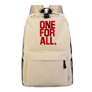 To Rucksack Back Bag School My Canvas Bags Shoulder Laptop Backpack Hero Academia Travel Lovwe Bookbag Wrhtd