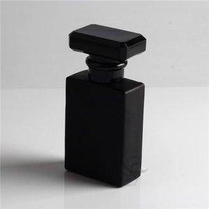 Rifibrible 20pcs Clear Black Refill Contenitore nuovo vetro 30ml e bottiglie di profumo Bottiglie di profumo Spruzzo di vetro Spray cosmetico vuoto per il viaggio Kwgio