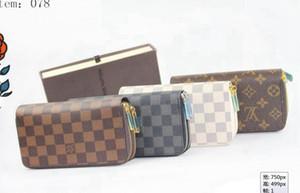 Portefeuille Portefeuille d021s0 femmes Sac Zipper Femme Designer bourse de portefeuille de mode Porte-cartes de poche Sac Femmes Long NO BOX er