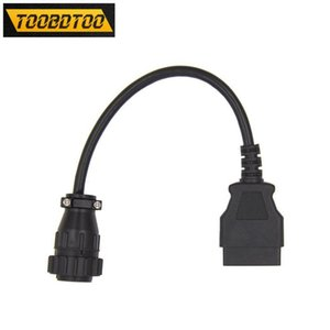 For Trucks 16PIN For Cable Car Diagnostic Tool 16PIN to OBD2 Connector Car Accessories Extension Cable
