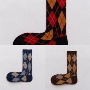 eZQ Spring argentina sock heel embroidered new dog Autumn and Winter boat Boat candy left and right personalized female socks trend