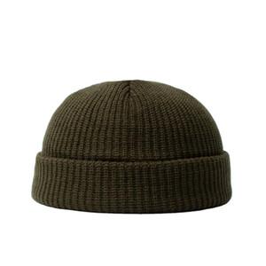 Nuovi arrivi Time-Limted Big Sales Designer Maschile inverno caldo cespuglio cappello via selvaggio maglieria cappello in lana cappello in pelle di melone cappello all'aperto spedizione gratuita