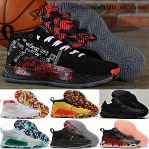 Tamaño de los Estados Unidos Damian Mens 12 hombres Big Kid Boys Tennis 46 niños zapatos 38 Enfant Dame 5 Mujer entrenadores Lillard 5s EUR zapatillas 47 13 V