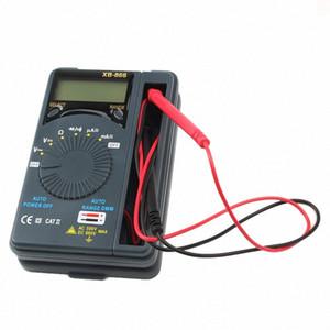 HONEYTEK Mini Digital Multimeter With Temperature Continuity Test AC DC Current Voltmeter Transistor Tester Digital multi meter nnjt#