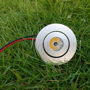 LED-Lampe Mini-Kabinett-Licht 1W 3W beleuchtet unten Lamparas DC 12V Wechselstrom 110V 220V 240V warmes Weiß kaltes Weiß Modern Lighting 100PCS