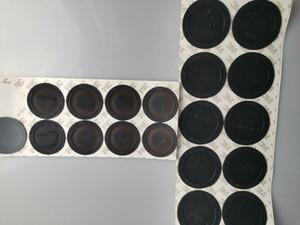 Coasters en caoutchouc auto-adhésif 3M pour 15 oz 20 oz Tumblers ongs tasses pâtables en caoutchouc Bouteille de protection Bouteille de protection