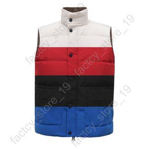 Nuevo estilo de alta calidad de Canadá Hombres Freestyle Crew chaleco abajo chaqueta deporte al aire libre parka Casual capa del equipo Hombres Doudoune envío libre