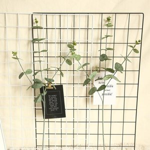 Artificial rattan vine silk eucalyptus pulp money leaf wedding cross-border hotel Christmas decor green plants wall material