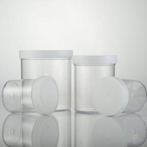 120 ml 200 ml 400 ml vacía transparente Jar PS Recipiente de plástico, polvo de estaño Pot Crema botella puede empaquetado cosmético 12PC / LOT