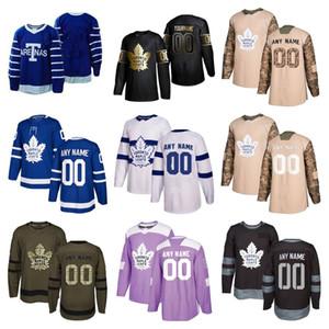 Hombres Niños Wome 2020 Noticias Toronto Maple Leafs jerseys del hockey de múltiples estilos para hombre Hyman Kapanen personalizar cualquier número de cualquier maillot nombre de hockey
