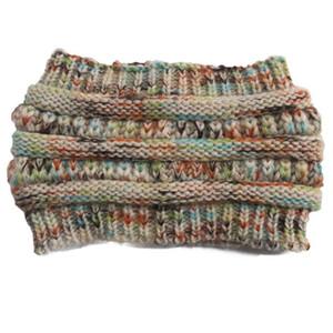 Knitted Crochet headband autumn winter new women Sports Head wrap Hairband Fascinator Hat Head Dress Headpieces EWC2950