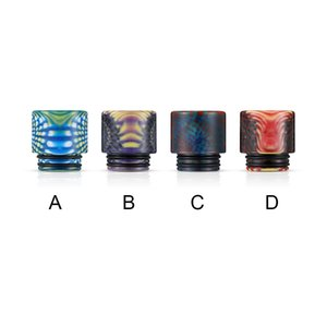 VapeSoon001 810 Resin Drip Tip 4 Colors Suit For TFV12 Prince TFV8 BIG Baby Falcon King IJUST 3 DHL Free