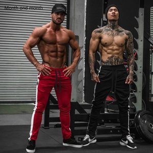 Men's Pants .Casual Men Joggers Harem Sport Bodybuilding Track Hip Hop Fashion Mens Running Gyms Training Elastic Trousers