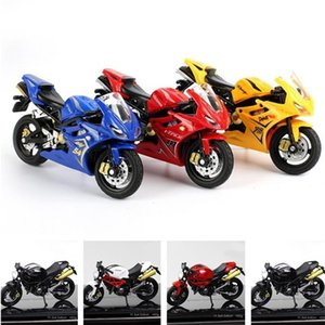 1:18 Children Collection Gift Simulation Motorcycle Model Toy cake decoration Off-road Vehicle kids toys Christmas birthday gift