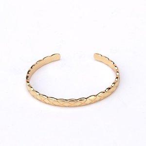 New European and American Simple Screw Bracelet Open Joint Lovers Hand Jewelry Eternal Ring Bracelet