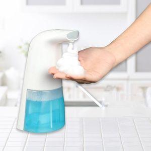 Dispensador de jabón de inducción automática de infrarrojos de glamour vibrante Botellas de pulverizador sin contacto para el hogar de la escuela del restaurante