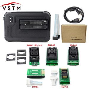 Orijinal XGecu T56 Programcı 56 Pim Sürücüler, PIC / NAND Flaş / EMMC TSOP48 / TSOP56 / BGA + 5 adaptörleri için 20000+ IC'lere Destek