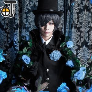 Black Butler Ciel Phantomhive Cosplay Costume Halloween Party Clothing Custom Made Uniform
