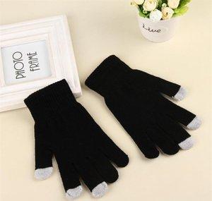 Women's Winter Touchscreen Glove Thermal Magic Gloves Touch Screen Magic Gloves Warm Knitted Full Finger Mittens Fo jllLOd eatout