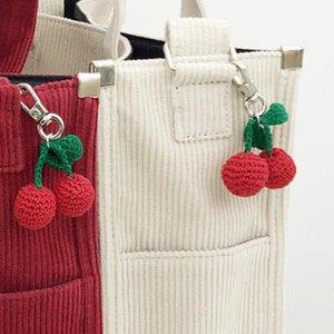 Handbags women bags2020 niche design new fashion Japanese cherry corduroy handbag ladies shoulder bag