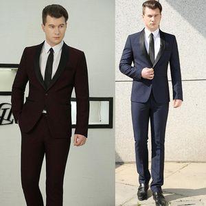 Blazer men formal dress latest coat pant designs marriage suit men homme terno masculino trouser triped wedding suits men's