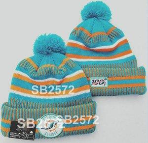 2020 зима Miami Beanie Mia Sideline холодная погода спортивная вязаная шапка вязаная шерсть для взрослых капот теплый бейсбольный шанс Beanie A11