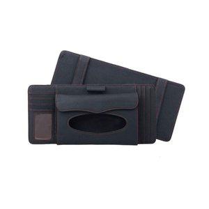 Organizer In 1 Sun Case Tissue Organizer CD Bag Car Storage Car Box Truck DVD 3 Card Disk Holder Visor Napkin Paper Bag Dmiuk