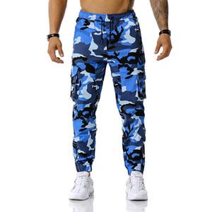 Camouflage Print Mens Designer Pants Fashion Shay SkinString Mens Cargo Pants Casual maschi Abbigliamento con tasche