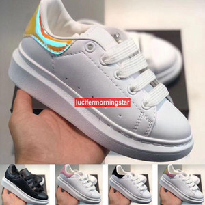 AG*001 2020 Discount Cut Low Casual Trainer Children Boy Girl Kids Skate Sneaker Fashion Sport Shoes Size24 -35 FV3072