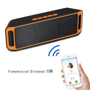 SC208 TF mini subwoofer wireless Bluetooth Speaker vivavoce / USB Speaker multifunzione Radio / FM disco per telefoni