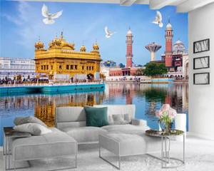 3d Wallpaper Modern Mural 3d Wallpaper Beautiful European Palace Scenery Living Room Bedroom Wallcovering 3d Home Wallpaper