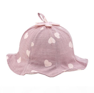 Baby child fisherman hat 3 years old baby hat duck tongue girl visor