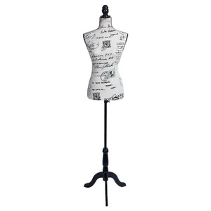 Женский манекен Torso Dress Phaness Pattern Photion Display W / Desicod Design