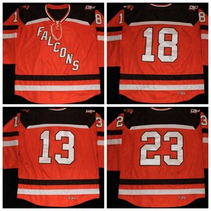 Custom Men Youth Women Retro Bowling Green State Univ #13 Adam Berkle #18 Ryan Viselli #23 Brent Tate Hockey Jersey Size S-4XL 5XL