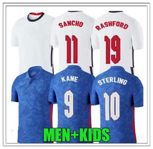 2021 # 9 Kane # 10 Roshford futebol jerseys esterling rooney sturridge esterling henderson vardy cames de futebol kits kits de criança venda quente