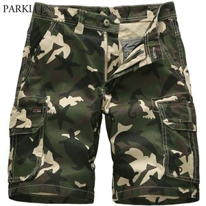Mens Camouflage Cargo Summer New Short Pants Men Comfortable Camo Bermuda Masculina Men's Cotton Loose Work Shorts