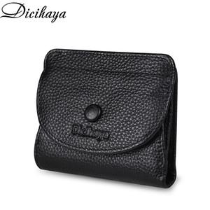 Dicihaya mulheres e fino carteiras de couro cartões Curto mulheres moedas bolsa senhoras pequenas q1110