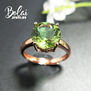 Bolaijewelry,Zultanite ring 925 sterling sliver created Color Change gemstone elegant design fine jewelry for woman daily wear Q1113