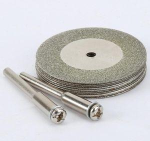 Tools 10pcs 35mm Accessories Stone Jade Glass Diamond Dremel Cutting Disc Fit Rotary Tool Drills Too wmtyQN dh_garden