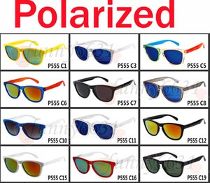 summer brand man and women polarized Dazzle sunglasses Bicycle Glass Driving glasses sport Mirror Sunglasses 12colors free shipping