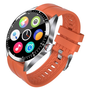 2020 Termômetro Smart Watchs Coração Fitness Tracker Pressão arterial IP68 Prova de água GPS Sports Bluetooth PK DZ09 Android Smart Watch
