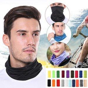 20 Colors Pure Color Outdoor Hip Hop Riding Kerchief Women Hair Scarves Wraps Hair Bandana Wrist Man Magic Band Headba I1B7