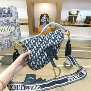 Brands DİORLuxury Designers Bags Women Handbag Saddle Bag Canvas Shoulder Bags Oblique Messenger Bag Clutch Crossbody Wallet