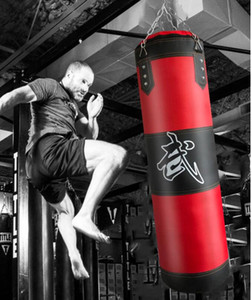 Kids adult sizes boxing sand bag 3 layer Pu+oxford fabric fitness gym sandbag empty taekwondo tumbler hang sand bags included accessary