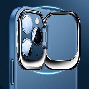 Laissez tomber preuve Bracket Invisible Transparent Shell pour l'iPhone 12 Mini Case Téléphone mobile Cas Covers