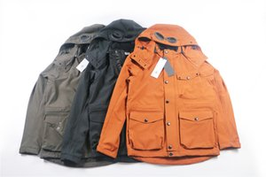 CP topstoney COMPANY 2020 spring and autumn loose European and American style top men's jacket coat Glasses hat Plush and thickened 3 colors