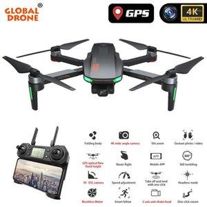 4K GPS DRONE CON LA CÁMARA 2 AXIS ANTI-SHAKE SERVO GIMBAL Quadcopter Profesional Dron Quadrocopter vs SG906 PRO FIMI ZINO1